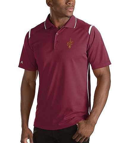 Antigua NBA Merit Short-Sleeve Polo Shirt
