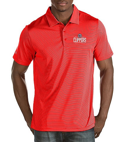 Antigua NBA Quest Short-Sleeve Polo Shirt