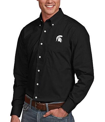 Antigua NCAA Dynasty Long-Sleeve Woven Shirt