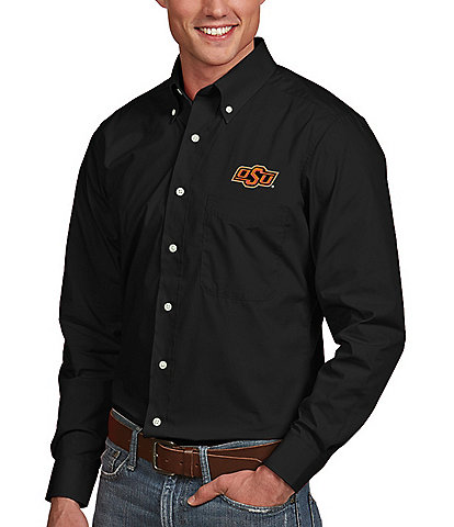 Antigua NCAA Dynasty Long-Sleeve Woven Shirt