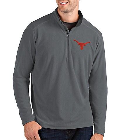 Antigua NCAA Glacier Half-Zip Textured Pullover