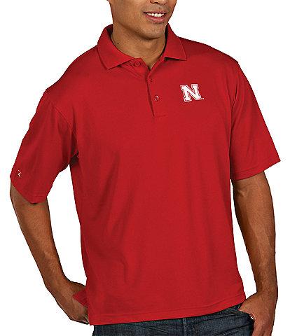 Antigua NCAA Pique Xtra-Lite Short-Sleeve Polo Shirt