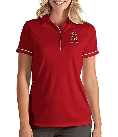 Antigua Women's MLB Salute Short-Sleeve Polo Shirt