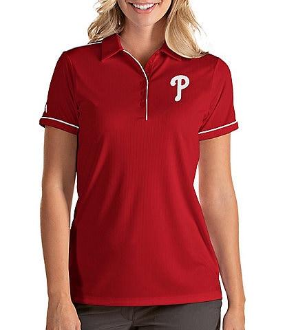Antigua Women's MLB Salute Short-Sleeve Polo Shirt