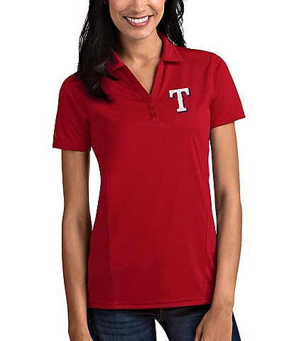 Antigua Women's MLB Tribute Short-Sleeve Polo Shirt