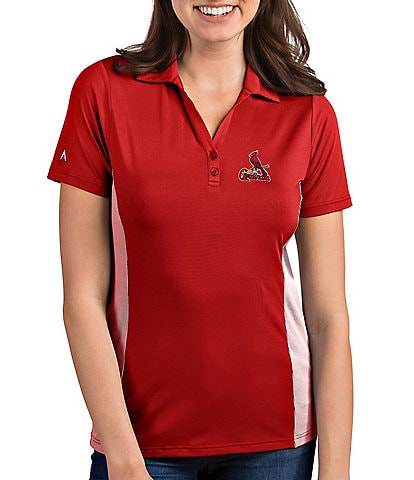 Antigua Women's MLB Venture Short-Sleeve Polo Shirt