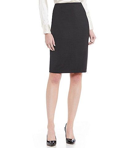 Antonio Melani Ace Wool Pencil Skirt