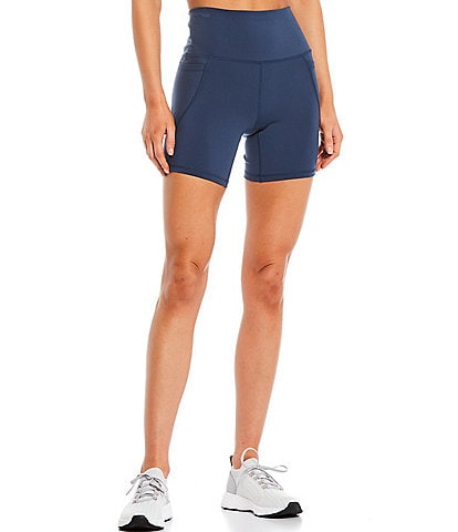 Antonio Melani Active Power 6#double; High Waist Side Pocket Bike Shorts