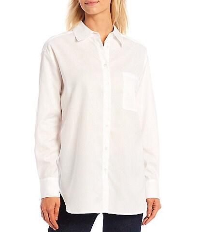 Antonio Melani Alice Oxford Button-Down Long Sleeve Shirt