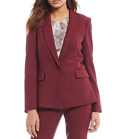 Antonio Melani Ally Twill Wool Blend Jacket
