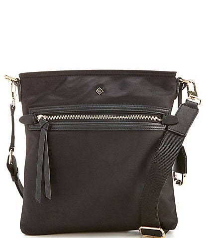 Antonio Melani Anna Nylon Swingpack Crossbody Bag