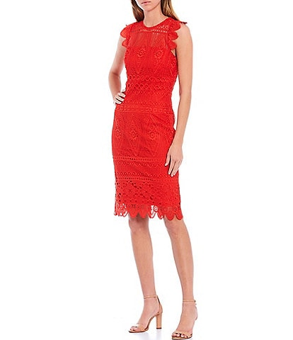 Antonio Melani Becki Lace Sheath Dress