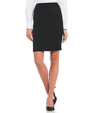 Antonio Melani Bitsy Wool Pencil Skirt