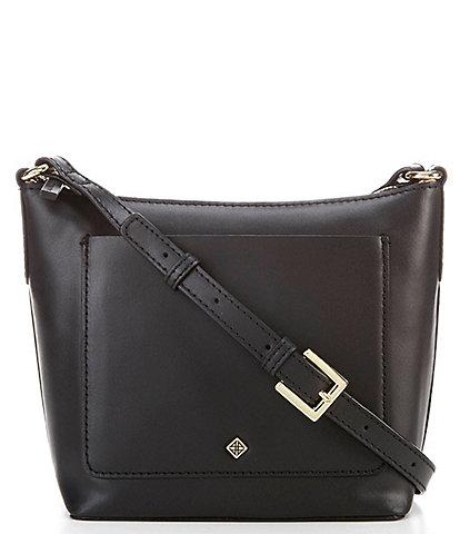 Antonio Melani Bryce Leather Crossbody Bag