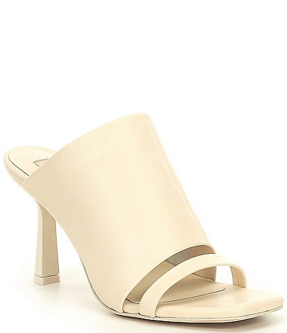 Antonio Melani Bynx Leather Dress Mules
