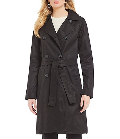 7ad66de2782 Antonio Melani Double Breasted Trench Coat