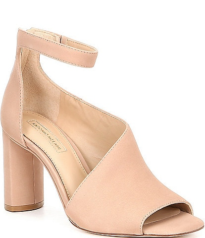 Antonio Melani Ehren Ankle Strap Block Heel Dress Pumps