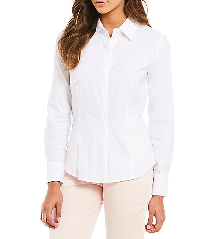 Antonio Melani Emma Long Sleeve Button Front Blouse