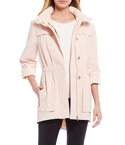 Antonio Melani Erin Raincoat With Detachable Hood
