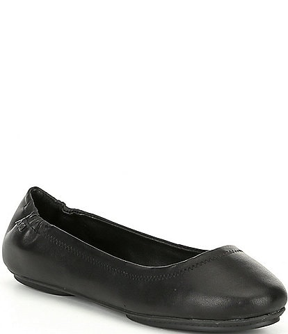 Antonio Melani Frederica Leather Round Toe Flats