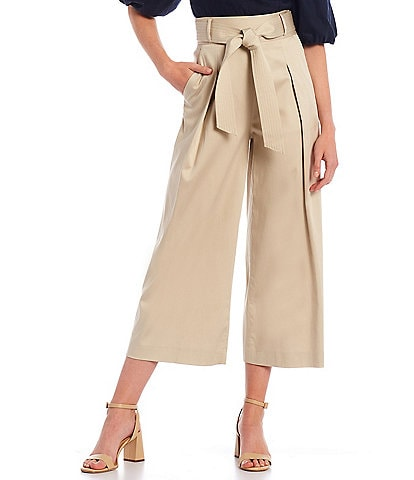 Antonio Melani Frenchie Wide Leg Crop Pants