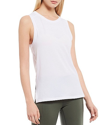 Antonio Melani Grace Crew Neck Sleeveless Moisture Wicking Active Tank
