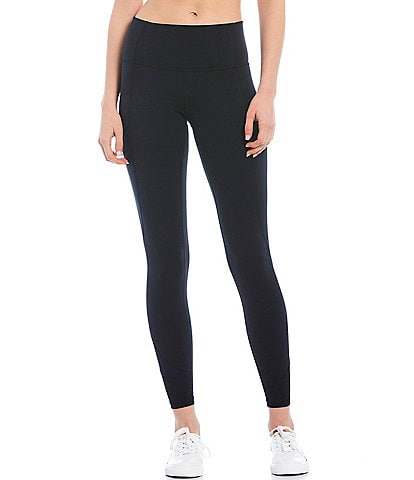 Antonio Melani Inspire 28#double; High-Tech Interlock Knit 4-Way Stretch Hidden Waistband Pocket Leggings