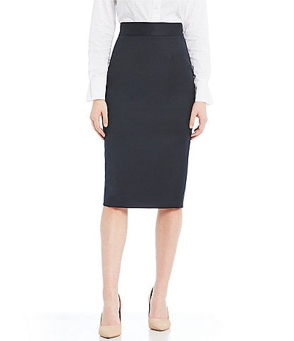 Antonio Melani Made with Loro Piana Fabric Jennifer Pencil Skirt
