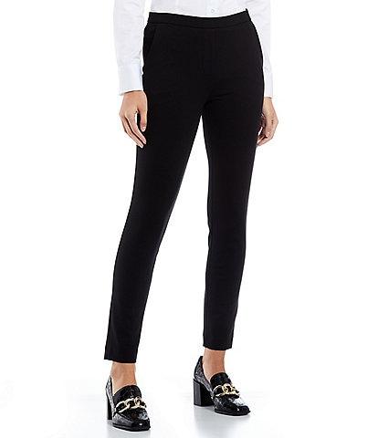 62cf2204331 Antonio Melani Kasia Flat Front Slim Leg Pant