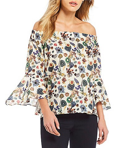 Antonio Melani Kate Floral Print Blouse Made With Liberty Fabrics