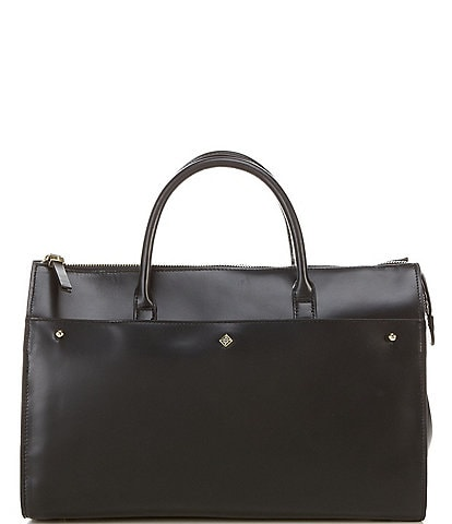 Antonio Melani Kingsley Leather Satchel Bag