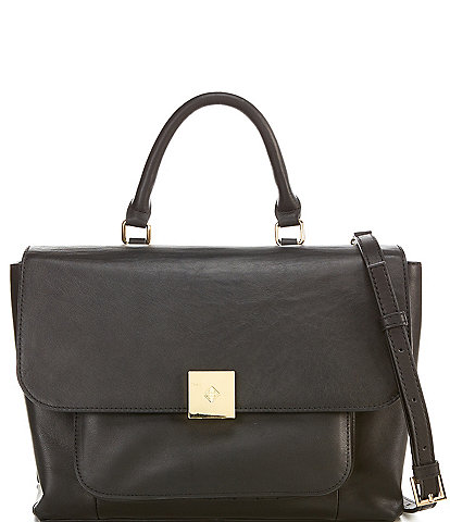 Antonio Melani Lola Leather Satchel Bag