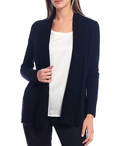 Antonio Melani Luxury Collection Ava Cashmere Open-Front Cardigan