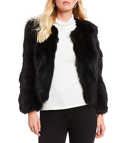 Antonio Melani Luxury Collection Christiane Genuine Fur Jacket