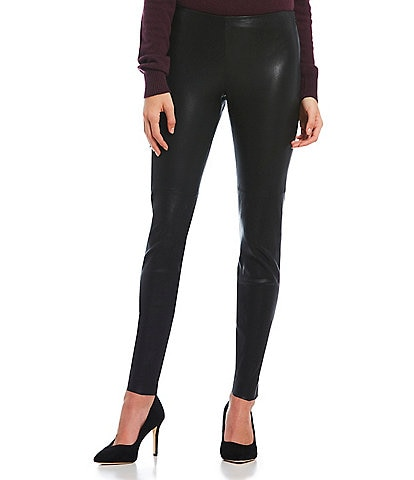 Antonio Melani Luxury Collection Khloe Genuine Leather Skinny Pant