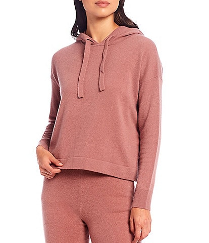 Antonio Melani Luxury Collection Pierce Cashmere Drawstring Hoodie