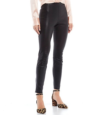 Antonio Melani Luxury Collection Terri Genuine Leather Skinny Pants