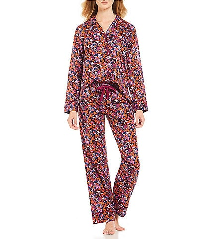 Antonio Melani Made with Liberty Fabrics Camo Flowers Lawn Pajamas