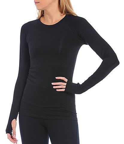 Antonio Melani Mantra Long Sleeve 4-Way Stretch Lightweight Top
