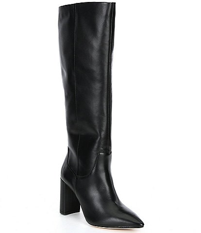 Antonio Melani Mckenda Leather Tall Shaft Boots