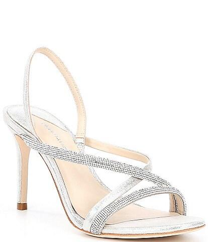 Antonio Melani Mesli Strappy Embellished High Heels