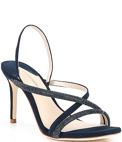 Antonio Melani Mesli Strappy Embellished High Heels