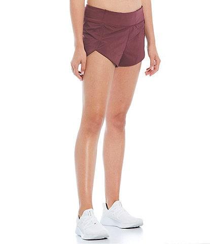 Antonio Melani Motion 4-Way Stretch Back Zipper Pocket Moisture Wicking Shorts