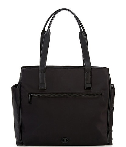 Antonio Melani Nylon Zippered Tote Bag