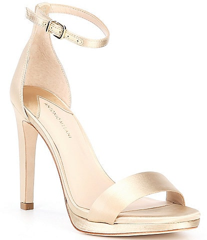 Antonio Melani Paislee Satin Platfrom Dress Sandals
