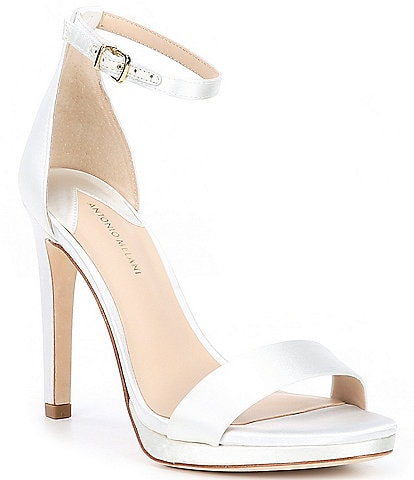 Antonio Melani Paislee Satin Platfrom Dress Sandals