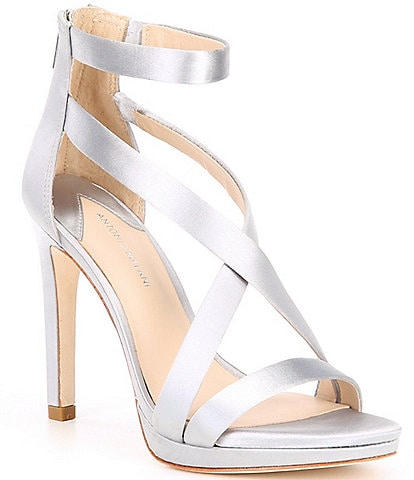 Antonio Melani Pamella Satin Dress Sandals