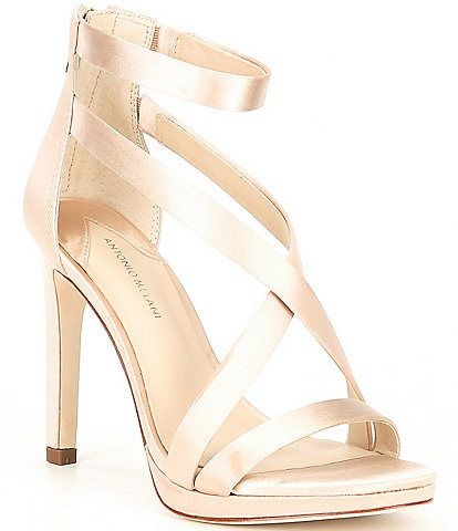 Antonio Melani Pamella Satin Dress Sandals