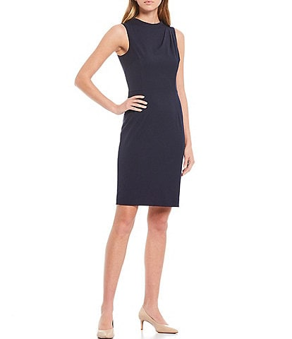 Antonio Melani Pepper Plain Weave Sheath Dress