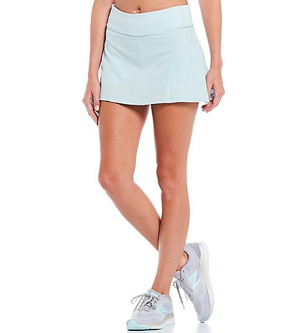 Antonio Melani Relaxed Stretch Mid-Rise Match Skirt